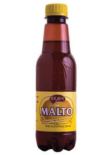 Pineapple & malt flavoured drink